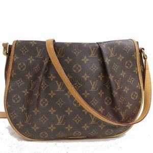 Auth Louis Vuitton Menilmontant Pm Bag #914L32
